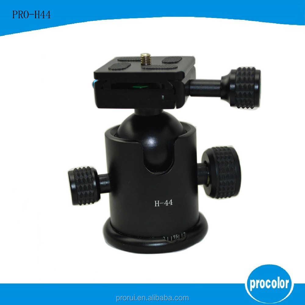 "2015 Ball Head Head New Hot Sale 1/4"" 360 Degrees Panning Rotating Time Lapse Stabilizer Adapter For Go pro Dslr Digital"
