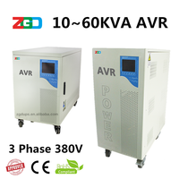 servo motor Three phase 25kva avr voltage stabilizer for water pump