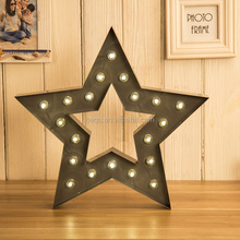 metal marquee star christmas star
