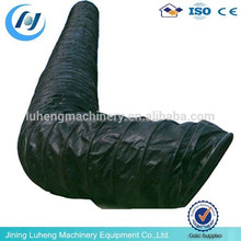 spiral pvc coated polyester fabric flexible duct for mining and tunnel, good tunnel ventilation flexible duct