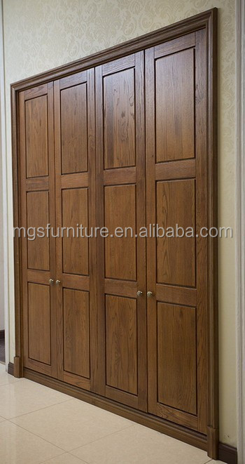 Bedroom Wooden Wardrobe door design