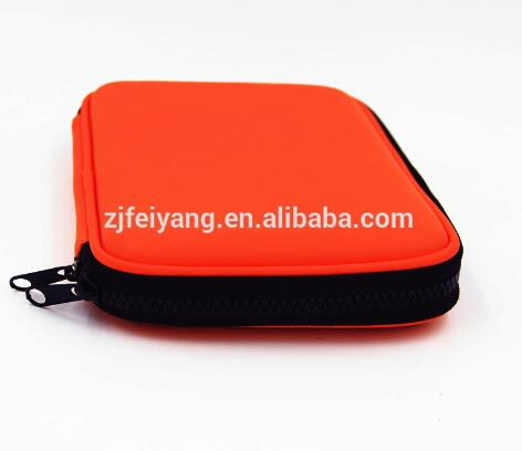 Hot sale top quality low price printing emboss EVA smiggle with 2 layers PU pencil case, kids OEM hard pencil bag