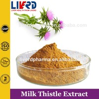 Cosmetic Raw Material Milk Thistle Extract Silybum Marianum