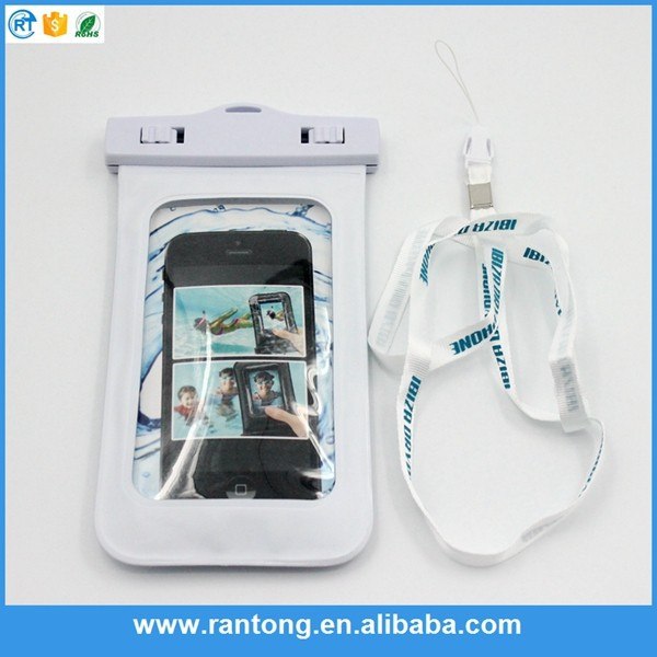 China factory pvc waterproof and shockproof case for sony