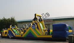 giant inflatable obstacle course/adventure rush inflatable obstacle KKB-L005