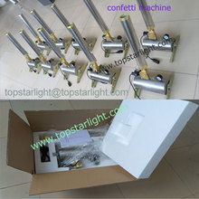 Cheap 150W party event confetti machine from Guangzhou