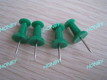 23mm Giant Impression Green Color Push Pin as Office Paper Clip