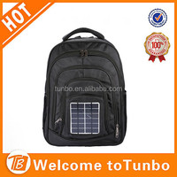 Wholesale New Fashion 1680D High Quality Outdoor Hiking Bag With Solar Power