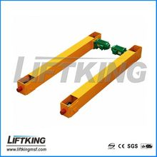 single speed / double speed end truck for electric overhead crane