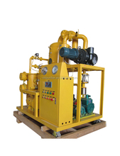 Double Stage Vacuum Insulation Oil/Used transformer Oil Purifier/Waste Oil Treatment