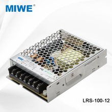 MIWE factory new style LRS-100-12 ultra thin 100W 12V switching power supply