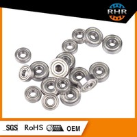 GCR15 or Carbon Steel ball bearings 606 ZZ used in the Model