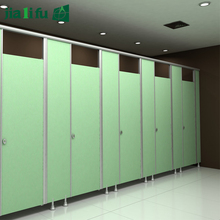 HPL finish PVC panel toilet partition