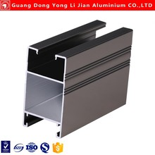 Aluminium sliding door profile frame