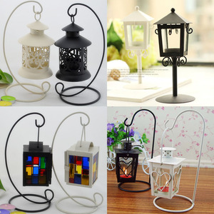 Decoration Bird Cage Candle Holder Lantern>>>European-style classical portal bird metal cage candle holder