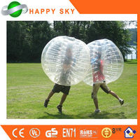 2015 Top sale inflatable giant ball, inflatable human bubble, human sized hamster ball