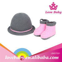 Lovely multi colors newborn baby hat knitting pattern
