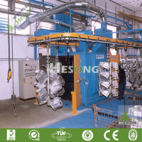 New Design Casting Cleaning Catenary Sand Blasting Equipment