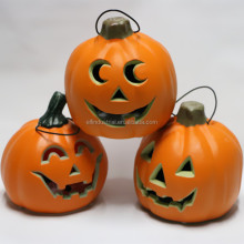 giant halloween decoration plastic artificial pumpkin buckets