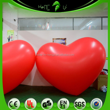 Red Inflatable Heart Shape Disco Ball/Wedding Gifts for Guests Heart Shape