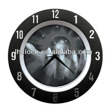 crystal ball fantansy wall clock