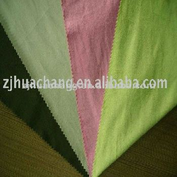 100% polyester Knitted Suede Fabric