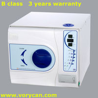 12Liters with inner printer medical dental tatoo autoclave sterilizer europe B class with CE and ISO 13485 3 years warranty