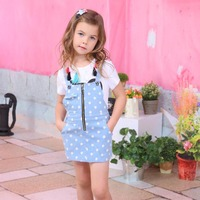 2016 fashion girl dress for kid slip dress made in china
