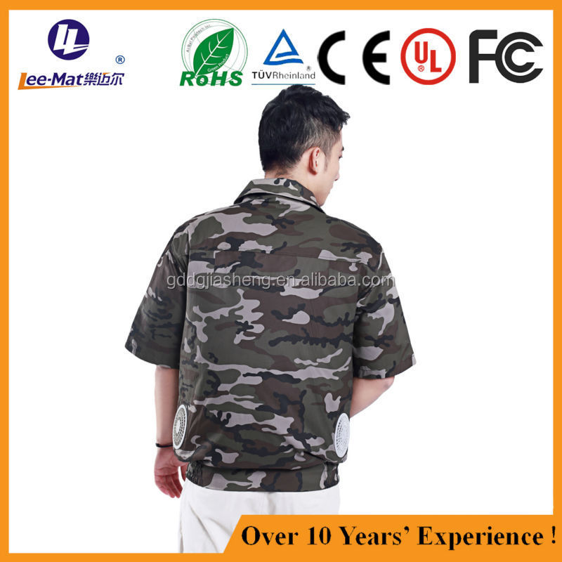 Selling as hot cake air cooling fan jacket air conditioned clothing