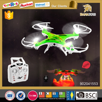 Shantou chenghai toy factory kid rc toy 2.4g 4-axis ufo quadcopter with camera
