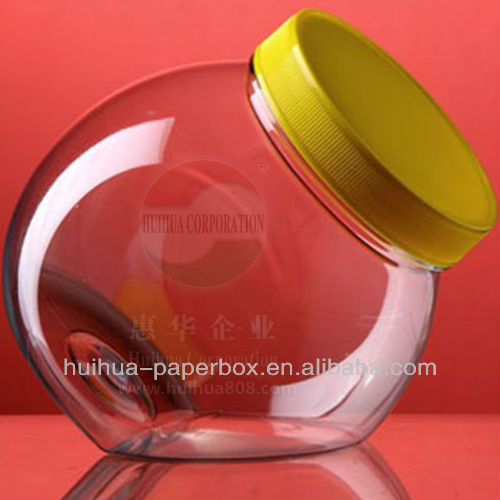 780ml candy jar Widemouth plastic bottle for chocolate