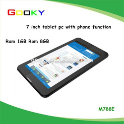 Cheap selling android 4.4 7'' mobile phone and tablet pc perfect combination