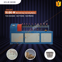 Precision Single Disc Cutter Auto Spiral Paper Tube Making Machine, Paper Core Rolling Machine, Carton Tube Winding Machine