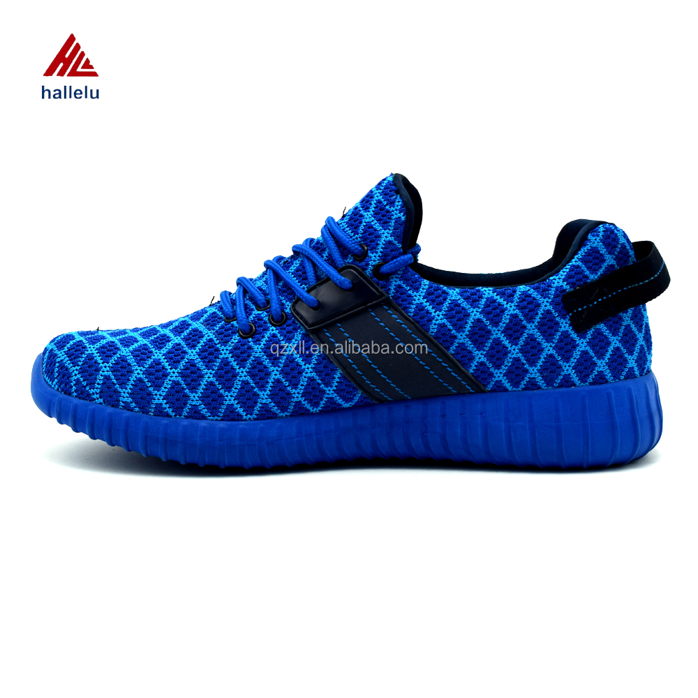 Flyknit Casual Shoes High Quality Mujer Zapatillas Deportivas Hombre Lace Up Running Lover Shoes Uppers