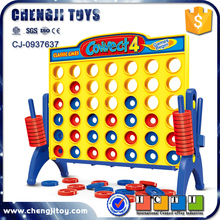Funny educational chess game plastic connect four game