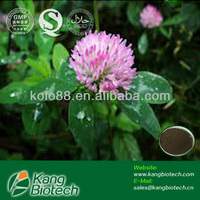 Chinese GMP manufacturer supply herbs powder Biochanin A from red clover extract