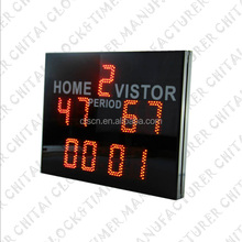 customized outdoor used soccer scoreboard for sale