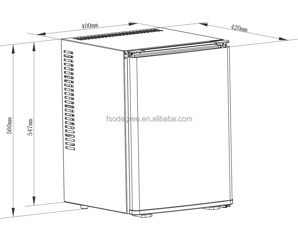 CB 40SA minibar with Erp A+ (12 degree), silent mini bar A+ ...