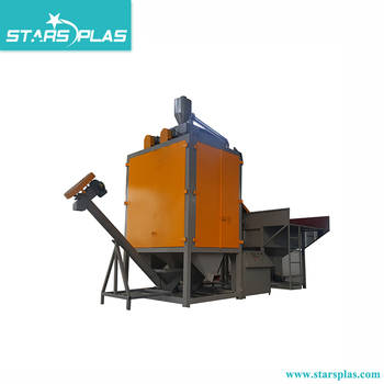 High quality electrostatic plastic flakes separator/mixed plastic sorting machine