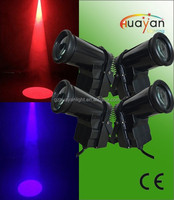 4pcs/lot fast shipping dmx stage wedding small party pinspot equipment 1*10w RGBW quad led for sell