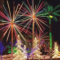 Buy Outdoor street decoration led firework lights for Christmas ...