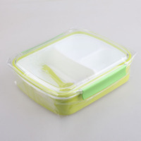 New Design Insulated Kids custom made lunch box packaging sealable plastic food container