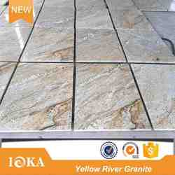 Natural Chinese Gold Granite Yellow River Granite Price