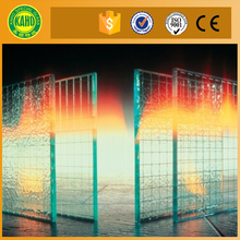 2 hour 1.5 hour 1 hour frameless fire rated glass door prices for window glass