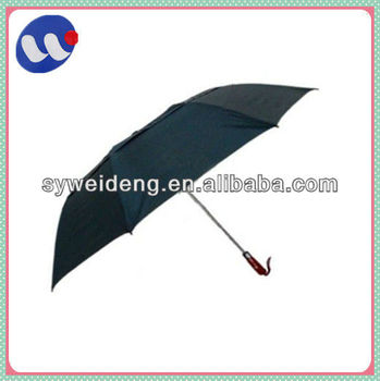 2 fold windproof double layer automatic umbrella