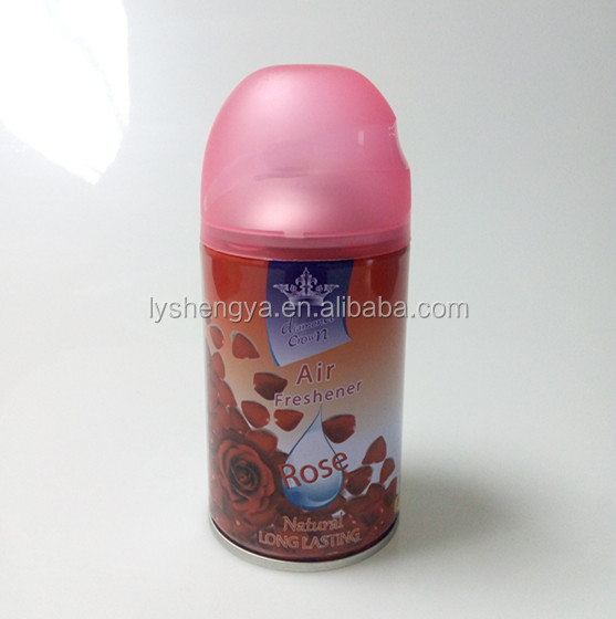 automatic rose scented air freshener spray for hotel