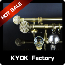 KYOK Polished curtain rod set,good quality shower curtain rod wholesale,home decorations rod curtain