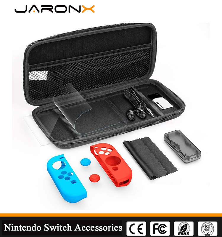 Game Traveler Deluxe Travel Case for Nintendo Swicth EVA carring case packs for nintendo switch,Nintendo Switch case