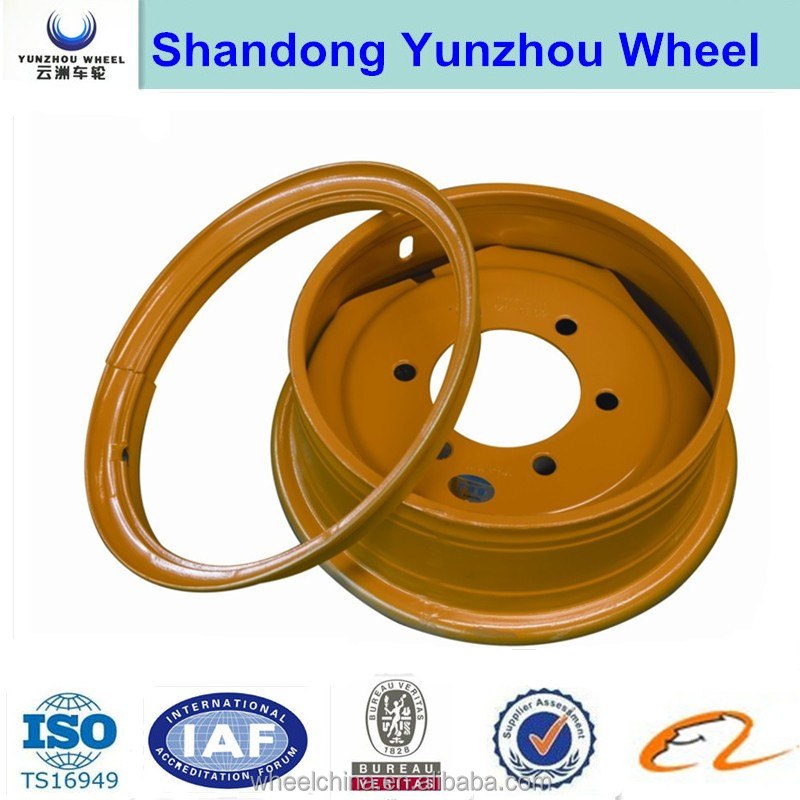 6.00-16 steel wheel rim for agricultural tractor