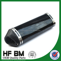 wholesale 125cc, 150cc, 250cc super quiet generator muffler, stainless steel exhaust pipe motorcycle